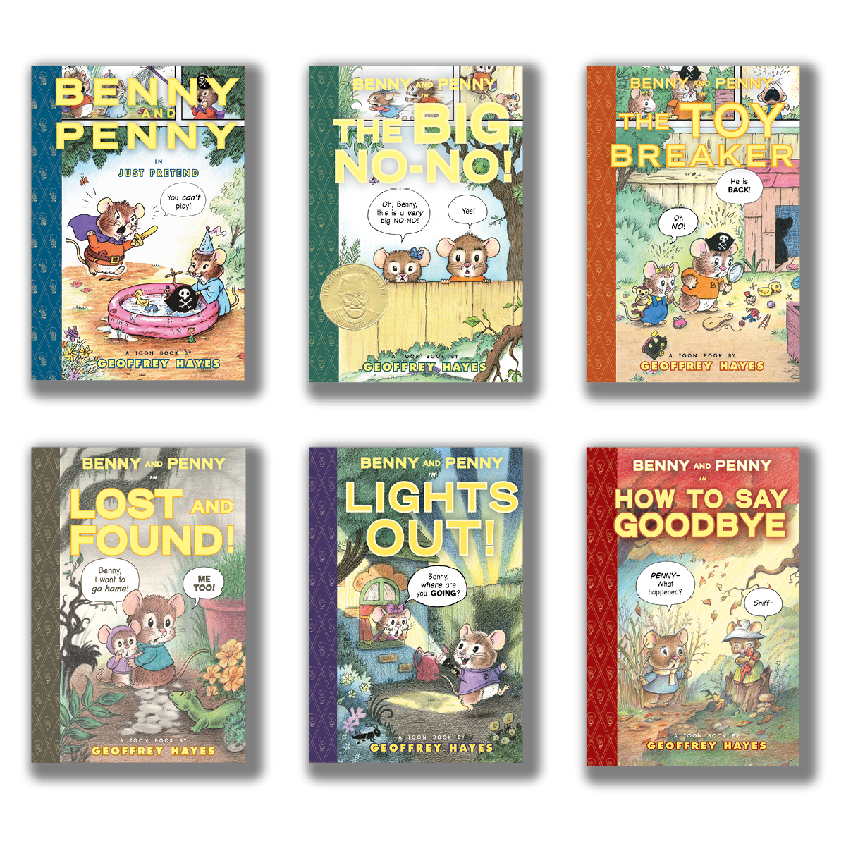 Benny and Penny Series by Geoffrey Hayes | 6 books